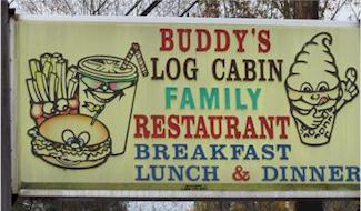 Directions to Buddy's Log Cabin Family Restaurant and Catering - Pine Grove, PA